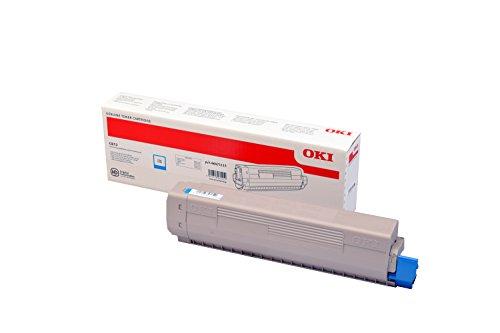 Oki 46471115 Toner 5000 Seiten cyan Lasertoner & Patrone - Laserdrucker (Laser-, 5.000 Seiten, cyan, 1 Stück)