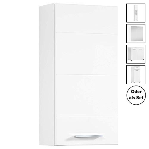 mokebo® Bad Hängeschrank 'Der Bademeister', moderner Badschrank hängend, Badezimmerschrank oder Badmöbel Set, Made in Germany
