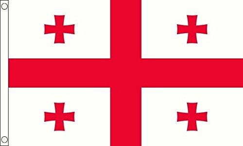 Georgië Nieuwe Vlag 5ft x 3ft