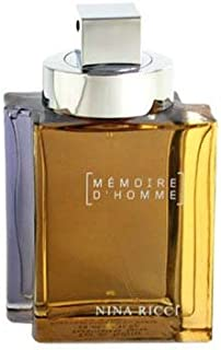 MEMOIRE D'HOMME by Nina Ricci AFTERSHAVE LOTION 3.3 OZ