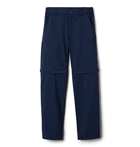 Columbia Silver Ridge IV Pantalon de randonnée Convertible Enfant Collegiate Navy FR: XS (Taille Fabricant: XS)