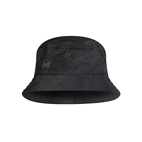 Buff Trek Bucket Hat Gorro, Unisex-Adult, Black, S/M