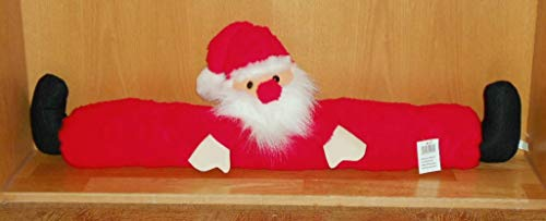 Zugluft Stop Zugluftstopper Windstopper Zugluftfigur Zuglufttier Tür Fenster Stopper Weihnachtsmann