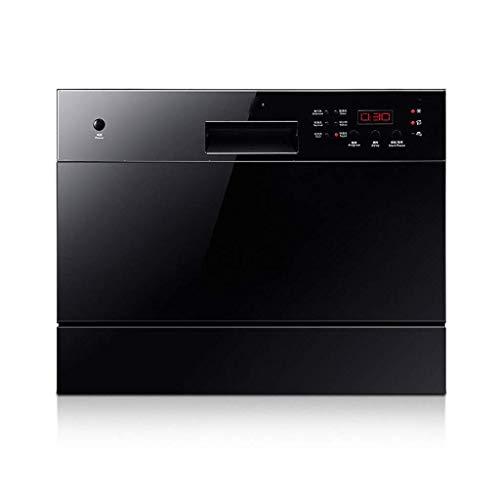 DWLXSH Einbau-Geschirrspüler, Compact Aufsatz- Spülmaschine Trockner for Home Küche Apartment Einbau-Geschirrspüler, chemische und Desinfektion, Energiesparen