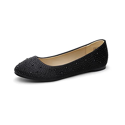 Top 10 best selling list for glitter flat shoes black