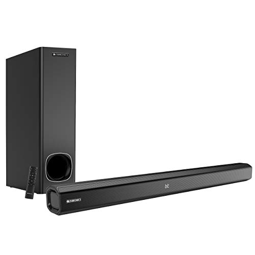 Zebronics Zeb-JUKEBAR 3900, 80W Multimedia soundbar with subwoofer Supporting Bluetooth, HDMI(ARC), Coaxial Input, AUX, USB & Remote Control (Black)