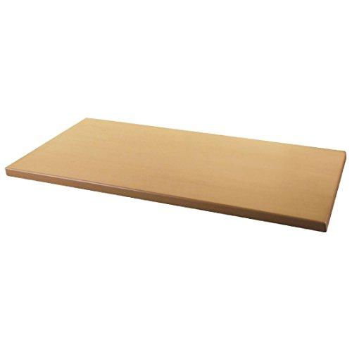 Werzalit Plus Dn643 rectangulaire Dessus de table, 1100 mm, en bois de hêtre