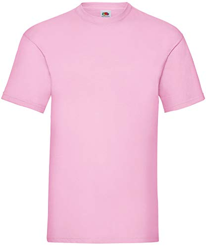 Fruit of the Loom - T-Shirt \'Valueweight T\' / Light Pink, 3XL