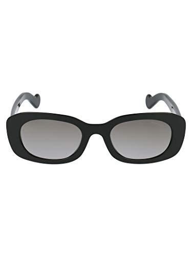 Luxury Fashion | Moncler Dames ML01235201B01B Zwart Acetaat Zonnebrillen | Seizoen Permanent