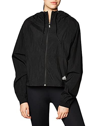 adidas W Bos WV Jacket Felpa, Donna, Black, M