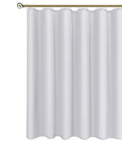 Biscaynebay Hotel Quality Fabric Shower Curtain Liners