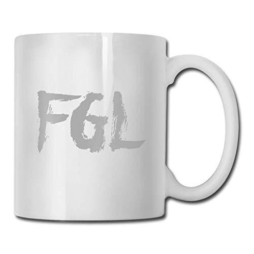 Jldoenh Udjgn Florida Georgia Line Taza de cerámica 330ml Humanized Design Cup Gift
