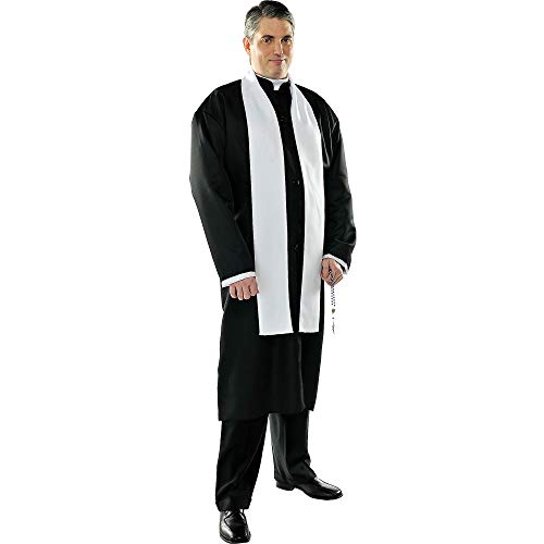 Amscan 840231 Adult Father Priest Costume Set - Standard Size