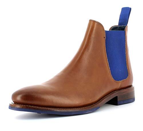 Gordon & Bros Herren Chelsea Boots, BOJAN 5926-C Männer Stiefel,Halbstiefel,Stiefelette,Bootie,Schlupfstiefel,flach,British TAN,42 EU / 8 UK