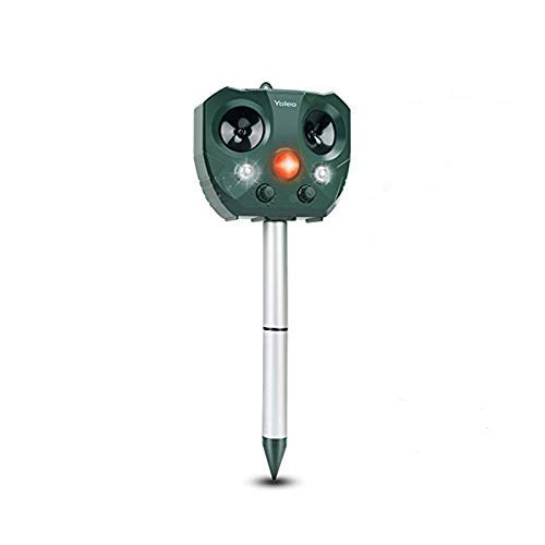 Yoleo Solar Power Ultrasonic Fox Repeller