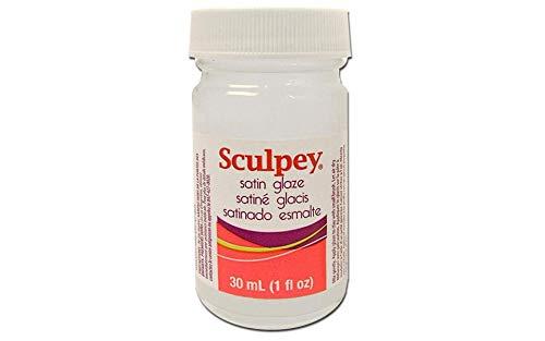 Polyform Sculpey Glaze, 1-Ounce, Satin