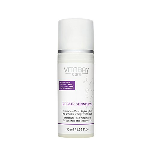 Vitabay Repair Sensitive 50 ml Creme • Ohne Parfum, Parabene und Mineralöle • Mit Urea & Defensil
