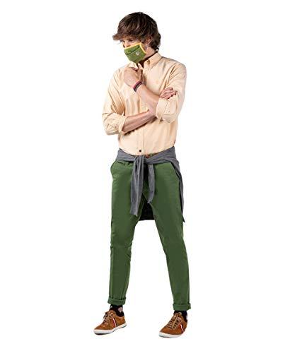 El Ganso 1020w200013 Pantalons, Vert, 42 Homme