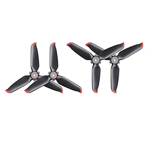 SYFANG Eliche Fit for DJI FPV Accessori per droni di, eliche per droni Facili da Montare, sicure, durevoli(Color:Propeller 2 Pairs)