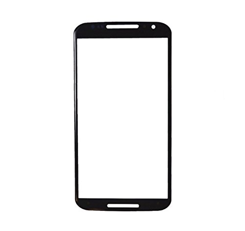 Shockware Front Screen Outer Touch Glass Compatible with Moto X2 : Black