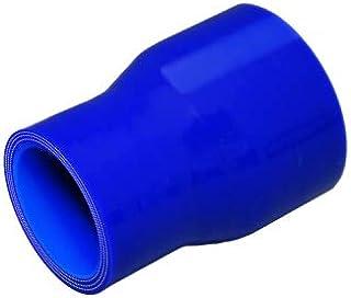 TOYOKING ハイテク シリコンホース ストレート ショート 異径 内径Φ25→30mm 青色 ロゴマーク無し インタークーラー ターボ インテーク ラジェーター ライン パイピング 接続ホース 汎用品