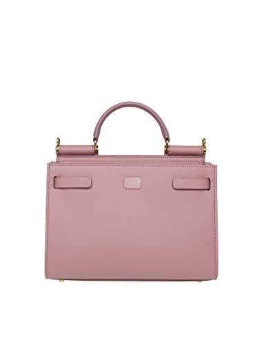 Luxury Fashion   Dolce E Gabbana Donna BB6625AV38580472 Rosa Borsa A Mano   Autunno Inverno 19