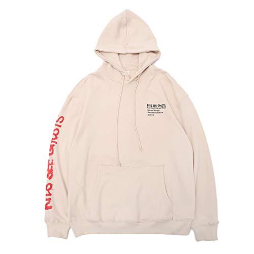 Kanye Kids See Ghosts Hoodie Kapuzenpullover Pullover Hooded Hoody, Aprikose, XL