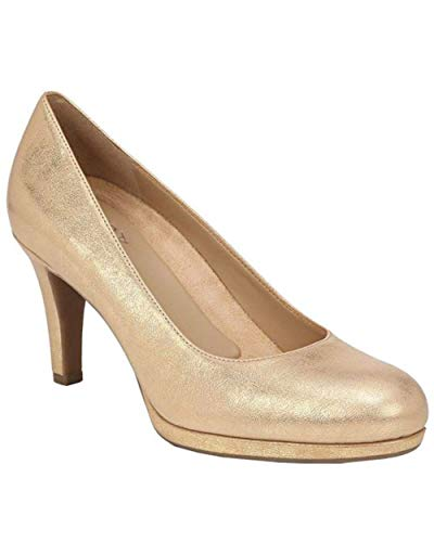 Naturalizer Michelle Damen-Pumps, Gold (Goldfarbenes Leder), 36 EU