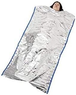 緊急 サバイバルシートサーマルブランケット 防寒 災害 防災 防止 避難 アルミニウム 熱 遮断 保温 シート 寝袋 折り畳み式【1M*2M】