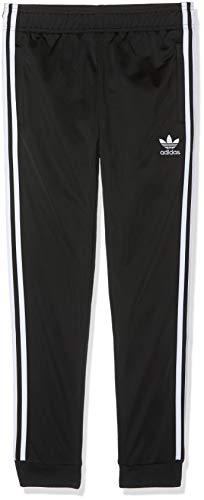 adidas Superstar Pants Pantalones de Deporte, Unisex niños, Black/White, 910Y