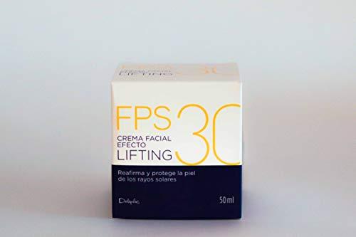 Crema facial efecto lifting sfp 30 (reafirma y protege), tarro 50 cc