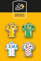 Tour de France 2018 - Set de pins Maillots