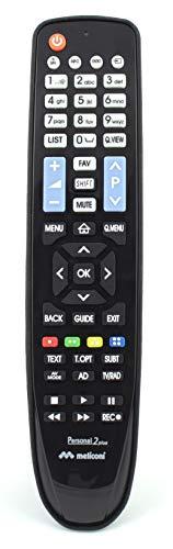 Telecomando per TV LG, Meliconi Personal 2 Plus, Nero