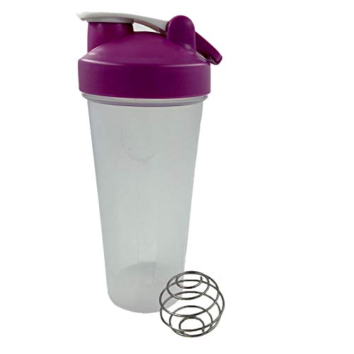 Protein Shaker Bottle (20 oz 600 ml) with Non-Leak Cap, Shaker Cups for Protein Shakes or Supplement – Perfect Fitness & Workout Partner