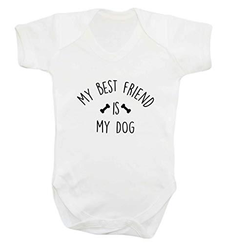 Flox Creative Gilet pour bébé Best Friends Dog - Blanc - XS
