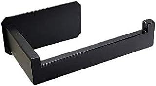 1Pcs Tissue Hanging Holder Self Adhesive Stainless Steel Kitchen Bathroom Toilet Roll Paper Holder Cabinet Door Hook (1Pcs)
