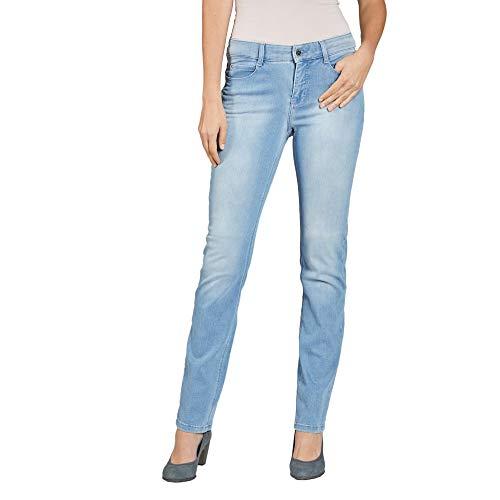 MAC Jeans Damen Dream Jeans, Blau (Basic Bleached Blue D491), 38W / 32L