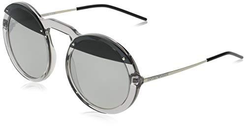 Emporio Armani 0EA4121 Gafas de sol, Transparente Grey, 55 para Mujer