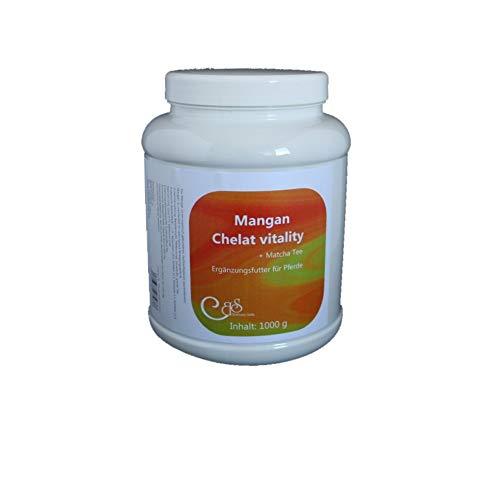 Mangan Chelat vitality 1000 g | bei erhöhtem Manganbedarf | Kräuter Pferde | Ergänzungsfutter Pferde - Barbara Seitz