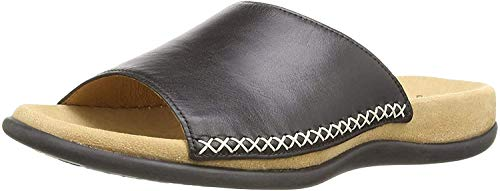 Gabor Shoes Damen Gabor Cervo Pantoletten, Schwarz (schwarz), 44 EU