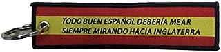 Llavero Lona Don Blas de Lezo Inglaterra 13x3 cm   Para Guardar y Tener recogidas las Llaves   Porta llaves Original y Prá...
