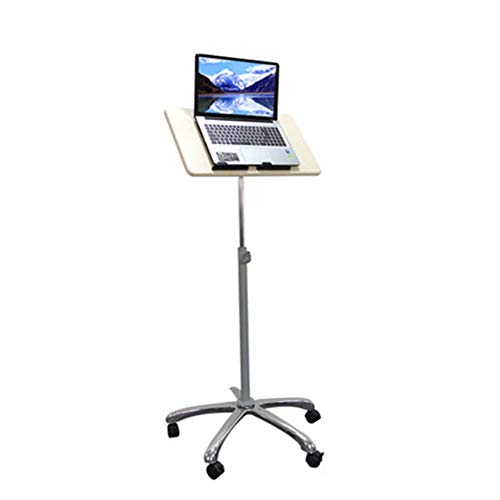 47-B Stand Laptop Table Lift Tables Tables Standing Tables Outside Broadcast Mobile Projector Desk Stand Can Sit Can Stand To Read And Write Office Tables (Color : A, Size : Large)