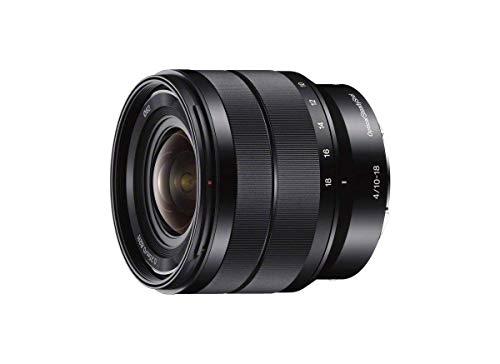 Sony SEL-1018 Obiettivo Grandangolo con Zoom 10-18 mm F4.0, Stabilizzatore Ottico, Mirrorless APS-C, Attacco E, SEL1018