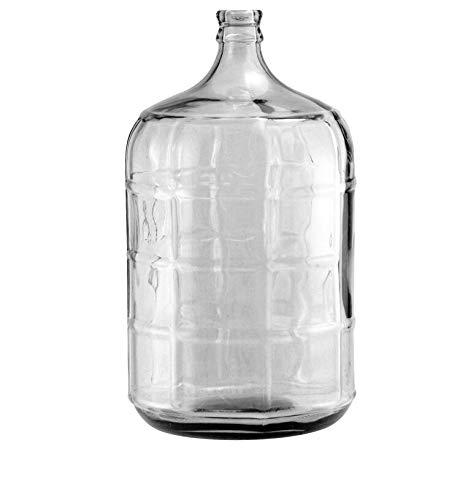Glass Carboy - 3 Gallon Secondary FERMENTER KIT + Bung + AIRLOCK Homebrew Beer & Wine | EL Hanes Enterprise