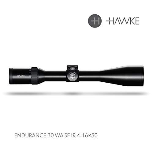 Hawke Endurance 30 WA SF LRDot 4-16x50 Model 2018 Zielfernrohr, schwarz, M