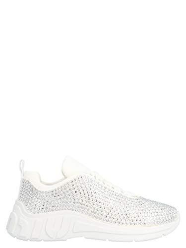 Miu Miu Luxury Fashion Damen 5E885CF0102AWLF0009 Weiss Polyester Sneakers | Frühling Sommer 20