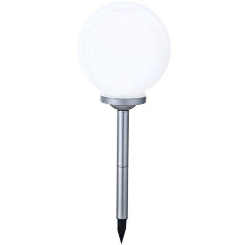 Solar LED Außenleuchte IP44 Gartenleuchte Farbwechsel Lampe Kugel Globo 33793