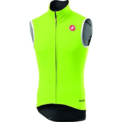 Castelli Perfetto Ros Vest, Gilet Sportivo Uomo, Yellow Fluo, L