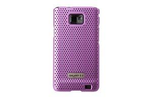Anymode AND026JPK - Funda para móvil Samsung Galaxy S II, color rosa