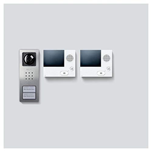 Siedle&Söhne Video-Set Set CVB 850-2 E/W Siedle Basic In-Home-Bus Türsprech-Set 4056138008988